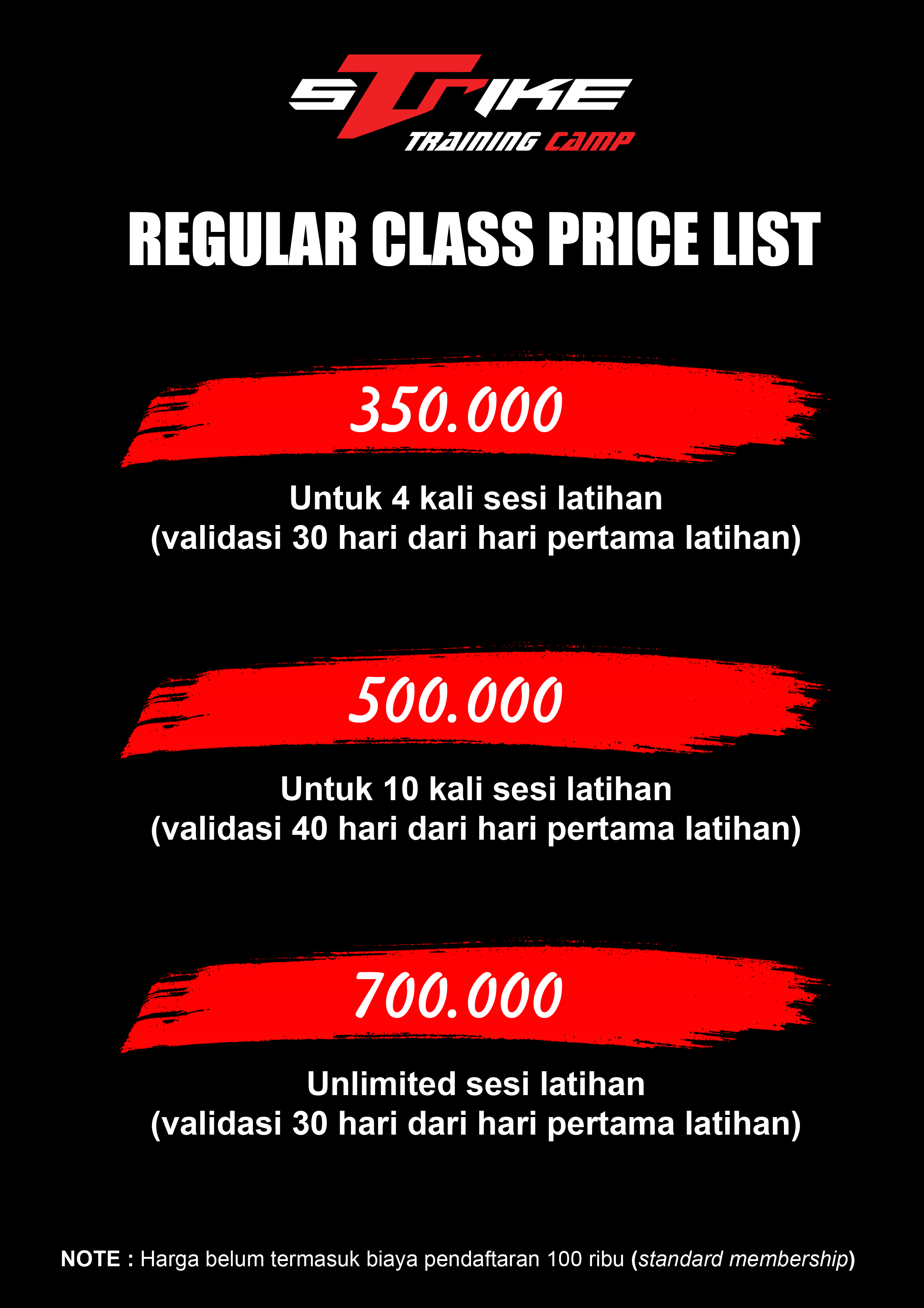 New Price List Juni 2020